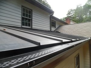 gutter guards with metal roof